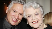 Harvey Fierstein and Angela Lansbury snap a sweet photo.