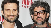 The Money Shot star Frederick Weller and playwright Neil LaBute.