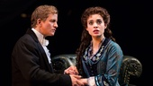 Jeremy Hays as Raoul & Julia Udine as Christine in The Phantom of the Opera. Photo by Matthew Murphy