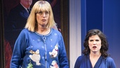 Judy Gold as Linda Tripp & Veronica J. Kuehn as Monica Lewinsky in Clinton the Musical