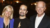Hamilton - Backstage - Joe Biden - 7/15 - Jill Biden -  Lin-Manuel Miranda
