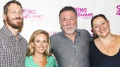 Spring Awakening - Meet the Press - 8/15 - Russell Harvard, Marlee Matlin, Patrick Page and Camryn Manheim