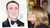 Danny Burstein Honored at Sardi's – Kelli O'Hara