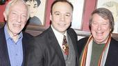 Danny Burstein Honored at Sardis  Danny Burstein  Andre Bishop  Bernard Gersten