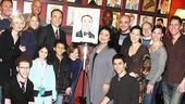 Danny Burstein Honored at Sardis  Group Shot
