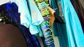 Heidi Blickenstaff backstage at The Little Mermaid – costume