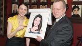 Sutton Foster Honored at Sardi's – Sutton Foster – Max Klimavicius