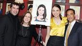 Sutton Foster Honored at Sardi's – Sutton Foster – Mike Isaacson – Kristin Caskey – Hal Luftig