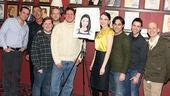 Sutton Foster Honored at Sardi's – Sutton Foster – Christopher Sieber – Shrek cast