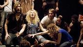 Hair rehearsal – onstage1