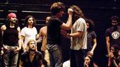 Hair rehearsal – onstage4