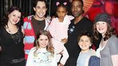 Chris Rock and Family at Shrek the Musical  Chris Rock  Zahra Savannah  Rachel Stern - Ryan Duncan - Rachel Resheff - Adam Riegler - Marissa O&#39;Donnell