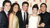 West Side Story opening  George Akram  Karen Olivo  Matt Cavenaugh  Josefina Scaglione  Cody Green