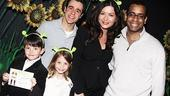 Catherine Zeta-Jones at Shrek the Musical  Catherine Zeta-Jones  Carys  Dylan  Daniel Breaker  Noah Rivera