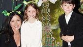 Catherine Zeta-Jones at Shrek the Musical  Catherine Zeta-Jones  Carys  Dylan  Jennifer Cody