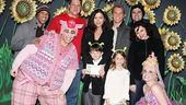 Catherine Zeta-Jones at Shrek the Musical  Catherine Zeta-Jones  Christopher Sieber  Carys  Dylan  Ensemble