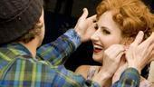 Girls in Jersey Boys – Heather's new wig
