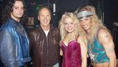Random celebs at ROA  Constantine Maroulis  Michael Keaton  Amy Spanger  James Carpinello