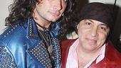 Random celebs at ROA  Constantine Maroulis  Steve Van Zandt