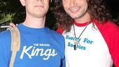 Broadway Softball May 2009  Colin Hanks  Constantine Maroulis