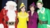 Backstage at Elf with Joe Jonas –George Wendt – Amy Spanger – Beth Leavel – Sebastian Arcelus