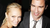 At the Broadway opening of Next Fall on March 11, Chenoweth got a chance to pal around with Eric McCormack, who played Harold Hill to her Marian the Librarian in The Music Man at the Hollywood Bowl.