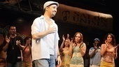 In the Heights Closing Night Christopher Jackson - Lin-Manuel Miranda  Arielle Jacobs