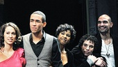 In the Heights Closing Night –Eliseo Roman- Jordin Sparks – Clifton Oliver – tktkt – Kyle Beltran – tktkt – Robin de Jesus – Javier Munoz