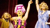 Tad Wilson, Will Swenson as Mitzi, Tony Sheldon as Bernadette, Keala Settle, Nick Adams, Mike McGowan and the cast of Priscilla Queen of the Desert.