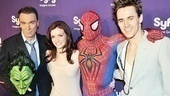 Syfy Stars at <i>Spider-Man, Turn off the Dark</i> - Patrick Page – Jennifer Damiano – Spider-Man – Reeve Carney