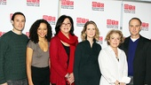 Wit Meet and Greet Greg Keller - Carra Patterson - Lynne Meadow - Cynthia Nixon - Suzanne Bertish - Michael Countryman