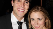 Star Josh Segarra is congratulated by musical comedy genius Kerry Butler.