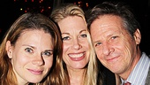 Celia Keenan-Bolger joins Marin Mazzie and her former Spamalot co-star Martin Moran for a photo.