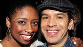Montego Glover loves the way Memphis choreographer Sergio Trujillo moves.