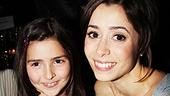 Once opening night  Claire Candela  Cristin Milioti   