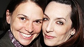Broadway leading ladies Sutton Foster and Julia Murney share a snapshot.