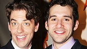 Peter and the Starcatcher Opening Night  Christian Borle  Adam Chanler-Berat