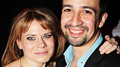 Peter and the Starcatcher Opening Night  Celia Keenan-Bolger  Lin-Manuel Miranda