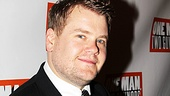 It&#39;s time for leading man James Corden to head for his opening night party to celebrate!