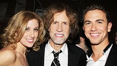 Caissie Levy and Richard Fleeshman love singing Glen Ballard's music, and they're delighted to share a photo with him on this special night.