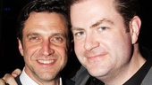 Raúl Esparza and Broadway.com's Editor-in-Chief Paul Wontorek pal around at the after-party.