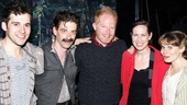 Menzel Diggs at Starcatcher  Adam Chanler-Berat  Christian Borle  Jesse Tyler Ferguson  Miriam Shor - Celia Keenan-Bolger 