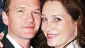 Neil Patrick Harris loves getting cheeky with fellow Proof alum Kate Jennings Grant backstage at the Brooks Atkinson Theatre. 