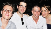 As You Like It Opening Night – Jonathan Groff – Zachary Quinto – Stephen Karam - Susan Blackwell
