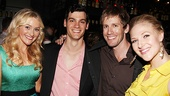 Broadway vets Betsy Wolfe, Bob Lenzi, Andrew Samonsky and Steffanie Leigh are happy to check out an exciting new musical.
