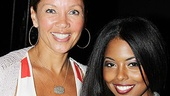 Vanessa Williams Visits Bring It On  Vanessa Williams  Adrienne Warren
