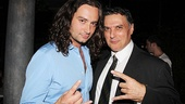 The Broadway leading men channel Maroulis' Tony-nominated role to add a little Rock of Ages flair to their photo!