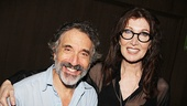 Ah! It's Into the Woods' original Baker and Baker's Wife Chip Zien (who plays the Mysterious Man in the current production) and Tony winner Joanna Gleason.