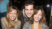 Bring It On's Kate Rockwell crashes Adam Chanler-Berat and Alice Ripley's Next to Normal reunion.