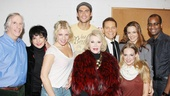 What a starry lineup! Henry Winkler, Liza Minnelli, Ari Graynor, Cheyenne Jackson, Joan Rivers, Michael Feinstein, Jenni Barber, Alicia Silverstone and Daniel Breaker come together for a group shot.